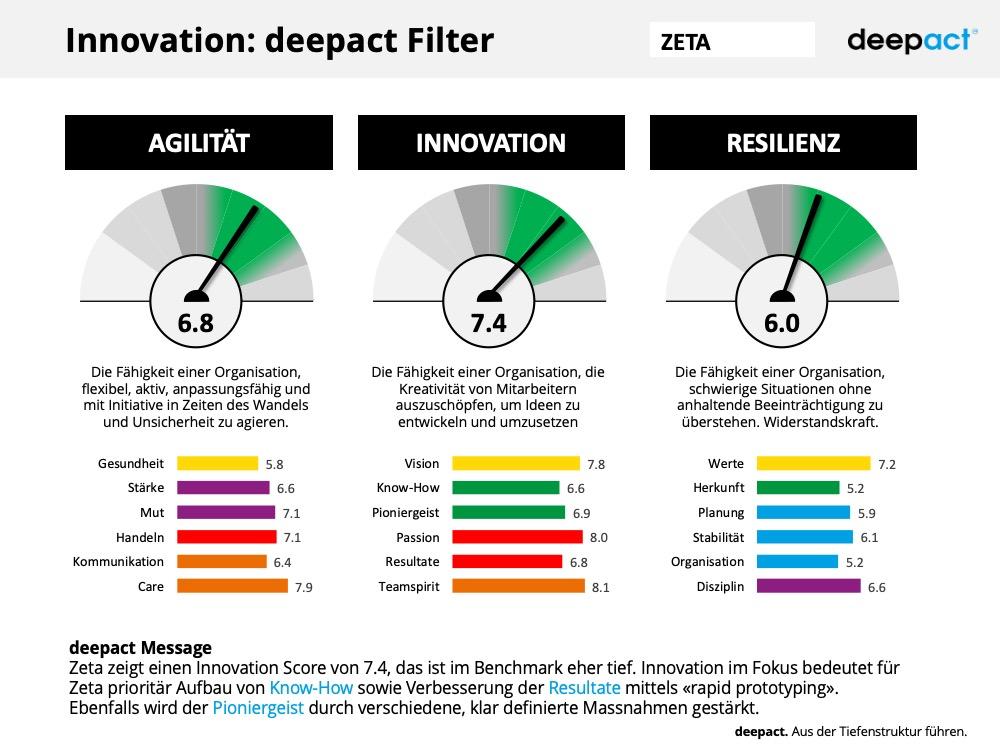 deepact Innovation Muster Report